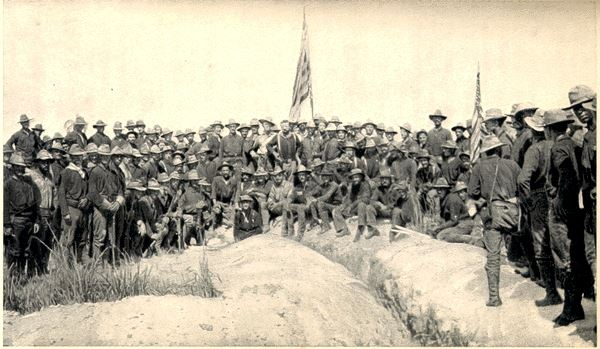 Rough Riders at San Juan Hill